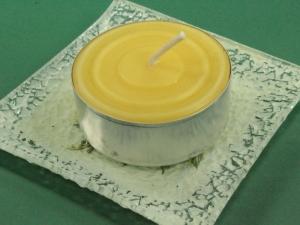 Bienenwachs-Maxi-Teelicht