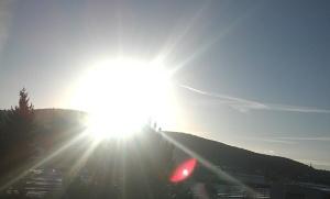 Sonne zu Imbolc