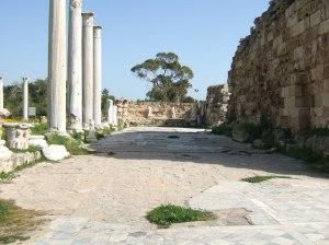 Salamis - römische Bäder