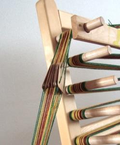 Webbrettchen aus Holz