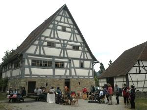 Hohenloher Freilandmuseum spinnerinnen