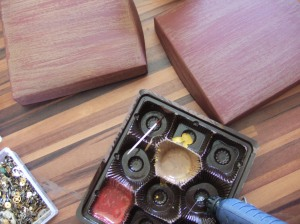 Steampunk Holzbox making of