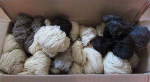 natural coloured wool