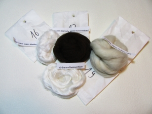 Kardenband Wolle