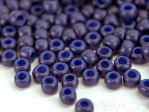 8/0 Rocailles TOHO - Farbe 2607F - Semi Glazed Navy Blue